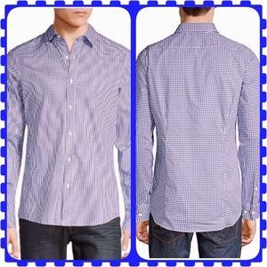 Michael Kors Lavender plaid Dress Shirt